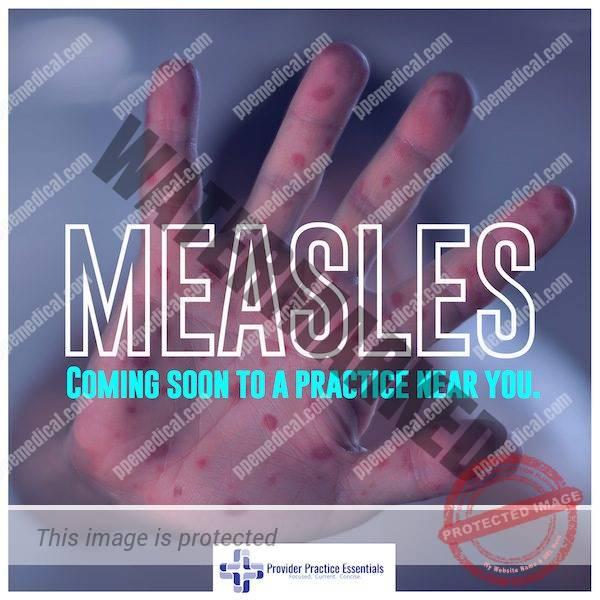 Measles outbreaks increasing