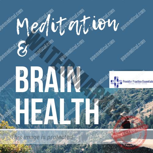 brain health and Meditation