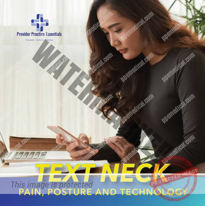 Learn what is text neck and what it has to do with cell phones and posture.