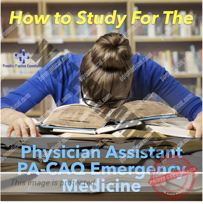 Physician Assistant PA-CAQ Emergency Medicine