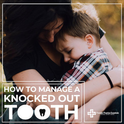 what to do with a knocked out tooth