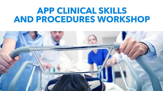 Clinical Skills and Procedures Workshop