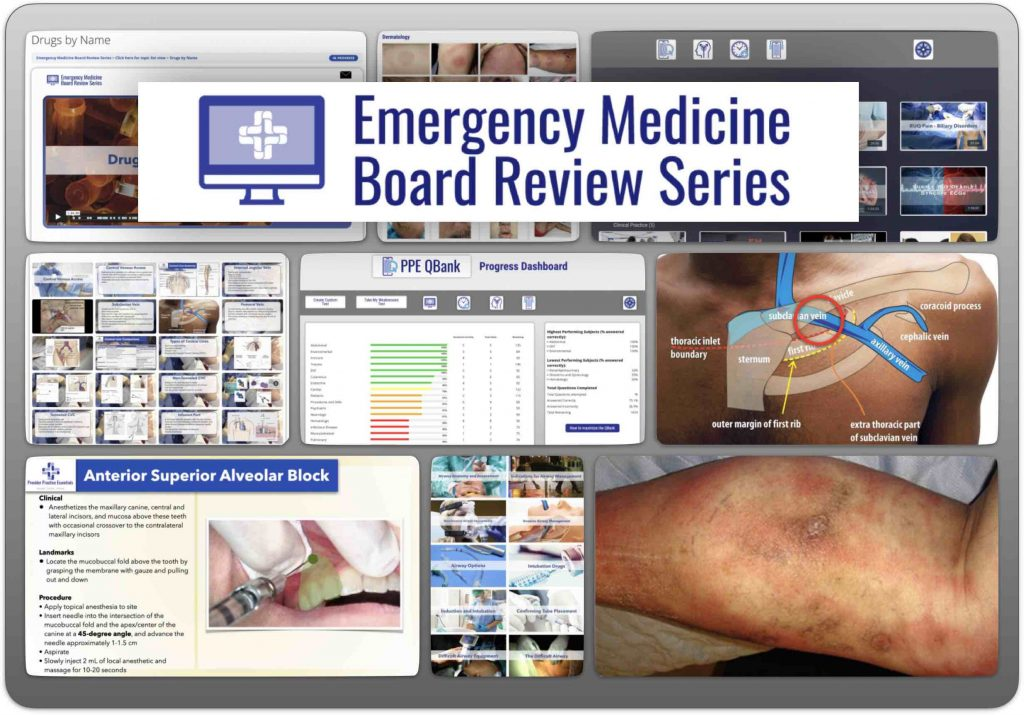 Emergency Medicine Board Review Series